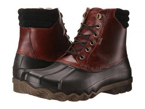 送料無料 スペリー Sperry メンズ 男性用 シューズ 靴 ブーツ スノーブーツ Avenue Duck Boot - Black/Amaretto