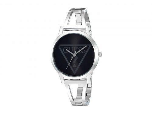 送料無料 ゲス GUESS レディース 女性用 腕時計 ウォッチ カジュアル時計 U1145L2 - Silver Tone/Black