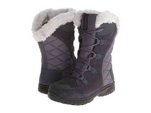 送料無料 コロンビア Columbia レディース 女性用 シューズ 靴 ブーツ スノーブーツ Ice Maiden(TM) II - Shale/Dark Raspberry