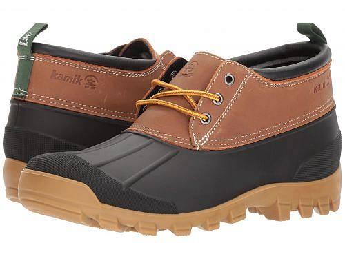 送料無料 Kamik カミック メンズ 男性用 シューズ 靴 ブーツ レインブーツ Kamik カミック Yukon 3 - Tan 1