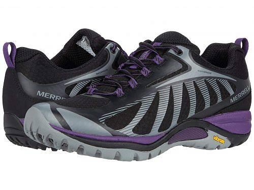 メレル Merrell レディース 女性用 シューズ 靴 スニーカー 運動靴 Siren Edge 3 Waterproof - Black/Acai