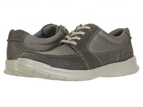 送料無料 クラークス Clarks メンズ 男性用 シューズ 靴 スニーカー 運動靴 Cotrell Lane - Olive Combi Leather