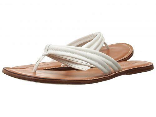 送料無料 バーナード Bernardo レディース 女性用 シューズ 靴 サンダル Miami Sandal - White Calf/Luggage Calf