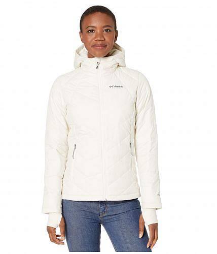 送料無料 コロンビア Columbia レディース 女性用 ファッション アウター ジャケット コート ダウン・ウインターコート Heavenly Hooded Jacket - Chalk