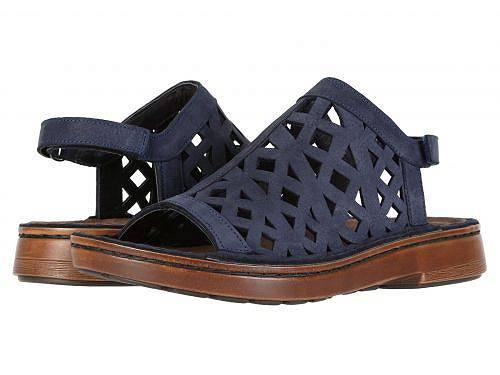 送料無料 ナオト Naot レディース 女性用 シューズ 靴 サンダル Amadora - Navy Velvet Nubuck