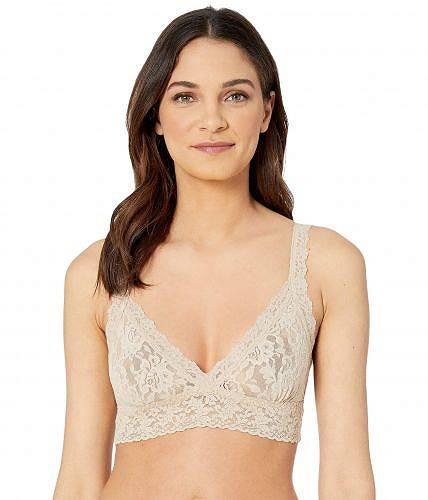 送料無料 ハンキーパンキー Hanky Panky レディース 女性用 ファッション 下着 ブラジャー Signature Lace Crossover Bralette 113 - Chai
