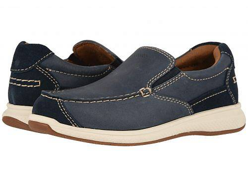 フローシャイム Florsheim Kids 男の子用 キッズシューズ 子供靴 ローファー Great Lakes Moc Slip, Jr. (Toddler/Little Kid/Big Kid) - Indigo Smooth/Suede
