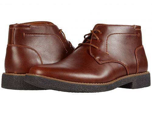 デアスタッグズ Deer Stags メンズ 男性用 シューズ 靴 ブーツ チャッカブーツ Bangor - Redwood/Dark Brown