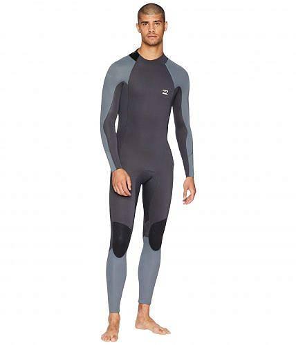 送料無料 Billabong ビラボン メンズ 男性用 スポーツ・アウトドア用品 水泳 サーフィン ウエットスーツ 302 Furn Absolute Back Zip Glued and Blind Stitched - Ash