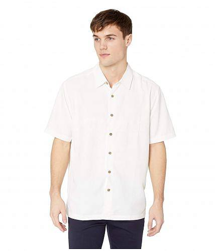送料無料 クイックシルバー Quiksilver Waterman メンズ 男性用 ファッション ボタンシャツ Tahiti Palms 4 - White