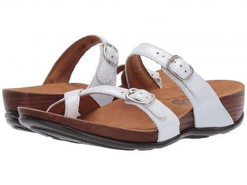 送料無料 サス SAS レディース 女性用 シューズ 靴 サンダル Shelly - Pearl White