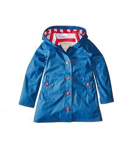 送料無料 Hatley Kids 女の子用 ファッション 子供服 アウター ジャケット レインコート Hatley Kids Splash Jacket (Toddler/Little Kids/Big Kids) - Blue