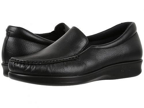 送料無料 SAS サス ローファー シューズ 靴 レディース 女性用 ボートシューズ SAS サス Twin - Black