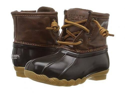 送料無料 Sperry Kids 女の子用 キッズシューズ 子供靴 ブーツ レインブーツ 女の子用 - Sperry Kid) Kids Saltwater Boot (Toddler/Little Kid) - Brown/Brown, シュウトウチョウ:edcf3ed0 --- sunward.msk.ru