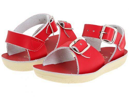 送料無料 Salt Water Sandal by Hoy Shoes ソルトウォーターサンダル キッズ 子供用 キッズシューズ 子供靴 サンダル Sun-San - Surfer (Toddler/Little Kid) - Red
