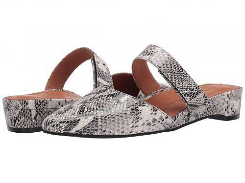 送料無料 L'Amour Des Pieds レディース 女性用 シューズ 靴 フラット Baruk - Black/White Snake