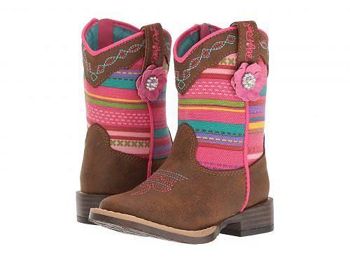 送料無料 M&F Distressed Western Kids Medium ブーツ ウエスタンブーツ 女の子用 キッズシューズ 子供靴 Western Camilla (Toddler) - Medium Brown Distressed, イナサグン:6719f3e6 --- sunward.msk.ru