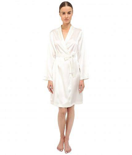 送料無料 ラペルラ La Perla レディース 女性用 ファッション パジャマ 寝巻き バスローブ Silk Short Robe - Natural
