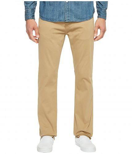 マヴィ Mavi Jeans メンズ 男性用 ファッション ジーンズ デニム Zach Classic Straight Jeans in British Khaki Twill - British Khaki Twill