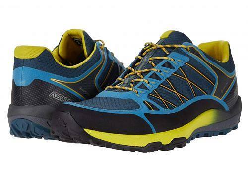 アゾロ Asolo メンズ 男性用 シューズ 靴 スニーカー 運動靴 Grid GV MM - Indian Teal Yellow