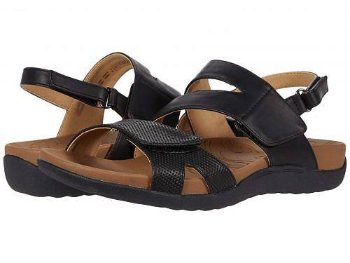 ロックポート Rockport レディース 女性用 シューズ 靴 サンダル Ridge Asymmetrical Strap - Black