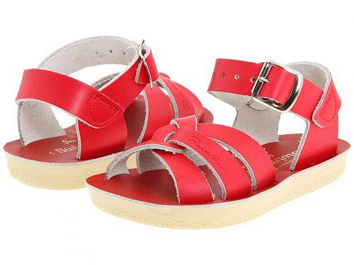 Salt Water Sandal by Hoy Shoes キッズ 子供用 キッズシューズ 子供靴 サンダル Sun-San - Swimmer (Toddler/Little Kid) - Red