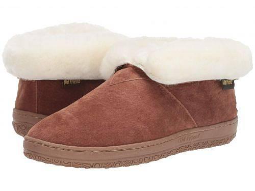 送料無料 オールドフレンド Old Friend レディース 女性用 シューズ 靴 スリッパ Bootee Ladies - Chestnut 2