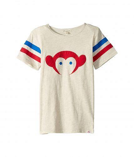 アパマンキッズ Appaman Kids 男の子用 ファッション 子供服 Tシャツ Sandlot Jersey (Toddler/Little Kids/Big Kids) - Cloud Heather