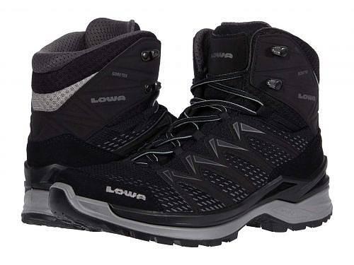 ローバー Lowa メンズ 男性用 シューズ 靴 ブーツ ハイキングブーツ Innox Pro GTX Mid - Black/Grey