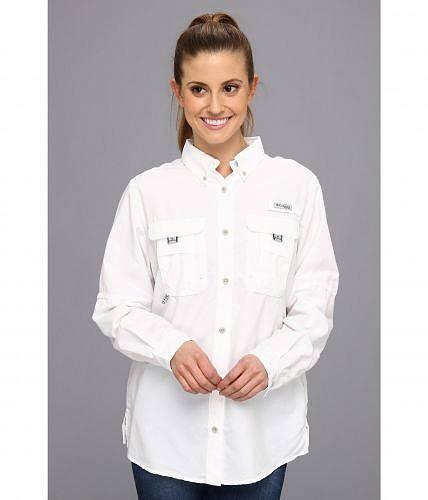 送料無料 コロンビア Columbia レディース 女性用 ファッション ボタンシャツ Bahama(TM) L/S Shirt - White
