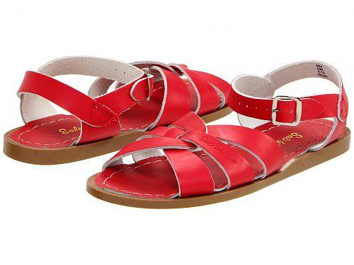 Salt Water Sandal by Hoy Shoes 女の子用 キッズシューズ 子供靴 サンダル The Original Sandal (Big Kid/Adult) - Red