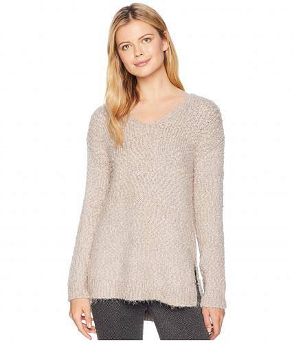 送料無料 トリバル Tribal レディース セーター Long Sleeve V-Neck Sweater - Dark Pebble