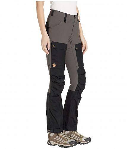 送料無料 フェールラーベン Fjallraven レディース 女性用 ファッション パンツ ズボン Keb Trousers CurvedBlack Stone Greyfb6gvY7y