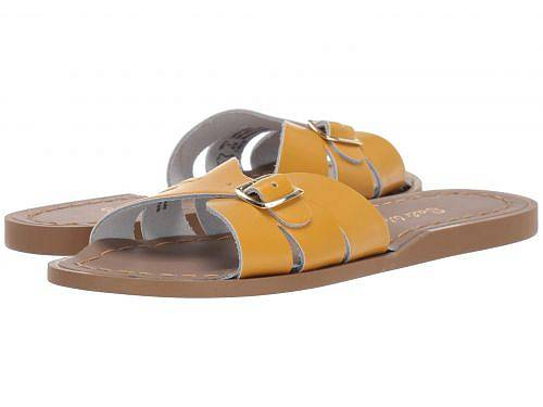 Salt Water Sandal by Hoy Shoes 女の子用 キッズシューズ 子供靴 サンダル Classic Slide (Little Kid) - Mustard