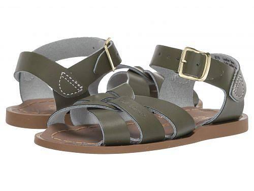送料無料 Salt Water Sandal by Hoy Shoes 女の子用 キッズシューズ 子供靴 サンダル The Original Sandal (Infant/Toddler) - Olive