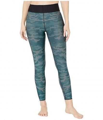 Ultracor レディース 女性用 ファッション パンツ ズボン Ultra High Micro Camo Leggings - Gulf Peacock