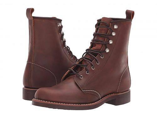 レッドウィングヘリテイジ Red Wing Heritage レディース 女性用 シューズ 靴 ブーツ レースアップブーツ Silversmith - Copper Rough & Tough