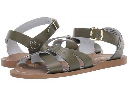 送料無料 Salt Water Sandal by Hoy Shoes 女の子用 キッズシューズ 子供靴 サンダル The Original Sandal (Toddler/Little Kid) - Olive