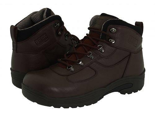 ドリュー Drew メンズ 男性用 シューズ 靴 ブーツ 安全靴 ワーカーブーツ Rockford Waterproof Boot - Brown Tumbled Leather