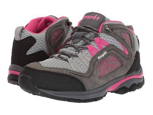 送料無料 プロペット Prop?t レディース 女性用 シューズ 靴 ブーツ ハイキングブーツ Propet Peak - Grey/Berry