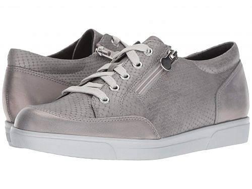 送料無料 ムンロ Munro レディース 女性用 シューズ 靴 スニーカー 運動靴 Gabbie - Light Grey Leather