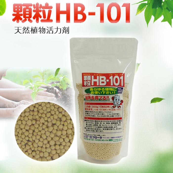 フローラ HB-101 顆粒タイプ 植物活力化 天然植物活力 園芸 花 ガーデン 農業 土壌 杉やヒノキ 国産品 送料無料 お茶などがよりみずみずしく 果物 野菜 300g おいしく収穫 松などから抽出したエキスで植物活性化 お米 授与