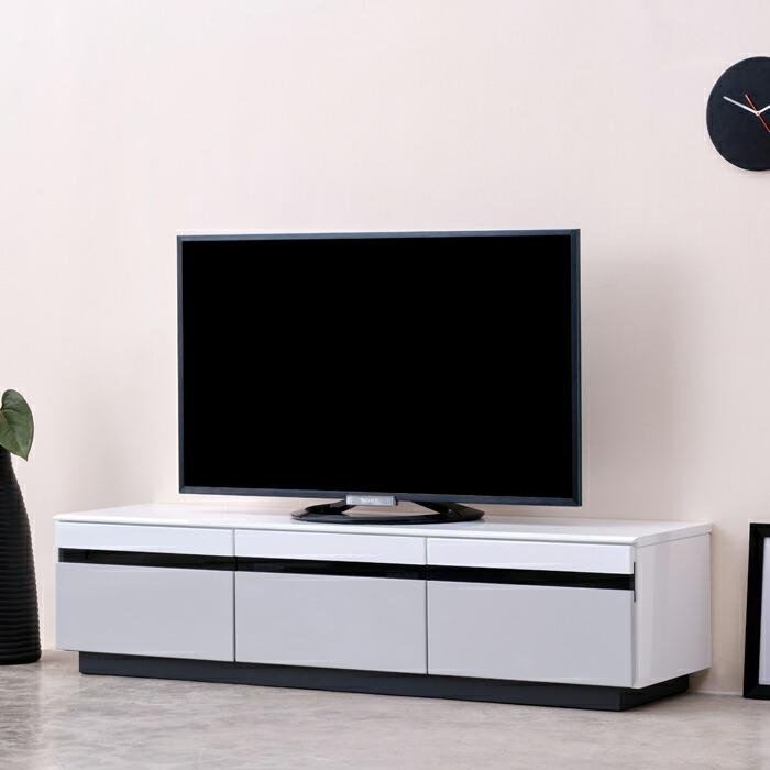 テレビ台 テレビボード ローボード 白 AVボード 収納 引出し 完成品 おしゃれ 幅150cm ASSO(アッソ)【送料無料】【2年保証】