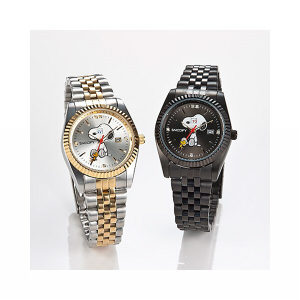 【クーポン獲得】【当店は4980円以上で送料無料】スヌーピー世界限定腕時計チャーミングアイウォッチホワイト 3個セット