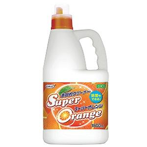 【クーポン獲得】【当店は4980円以上で送料無料】スーパーオレンジ泡タイプ業務用1.8L 5個セット