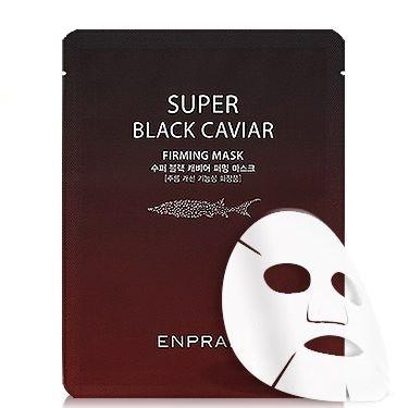 エンプラニ スーパー ブラックキャビア マスク ENPRANI 大決算セール エンプラニスーパーブラックキャビアマス 韓国コスメ 毎日がバーゲンセール 20枚セット 送料無料