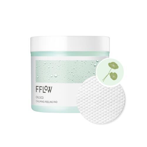 フロー オイル水 メイルオーダー カーミング ピーリング パッド 送料無料 フローピーリングパッド 60枚入 受注生産品 FFLOWフローオイル水カーミングピーリングパッド FFLOW