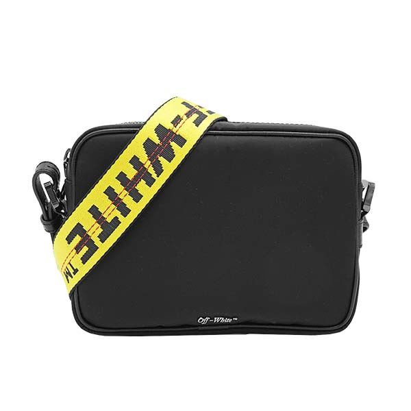 OFF-WHITE(オフホワイト) ナナメガケバッグ OMNA049R20E48001 1000 BLACK