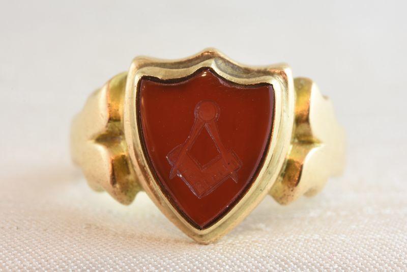 品質満点 グッドウィル アンティーク ジュエリー 15ct カーネリアン インタリオ リング 指輪 メンズ レディース, ムーンマッドネス 15f6a802