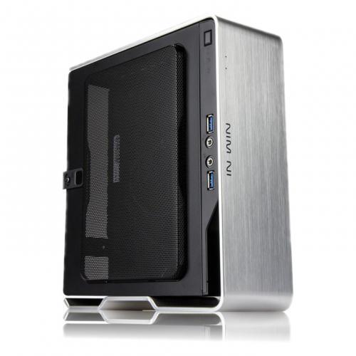 IN WIN CHOPIN IW-BQ696S Chopin-Silver 超小型Mini-ITXケース 電源内蔵 シルバー